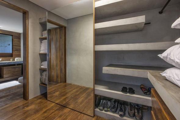 Móveis feitos de concreto em casa 005