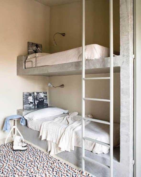 Móveis feitos de concreto em casa 015