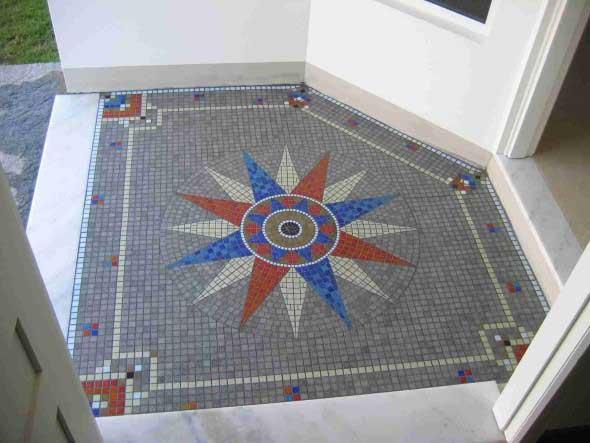 Mosaico na decoração de casa 015