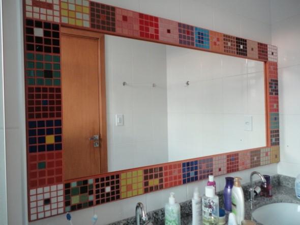 Mosaico na decoração de casa 022