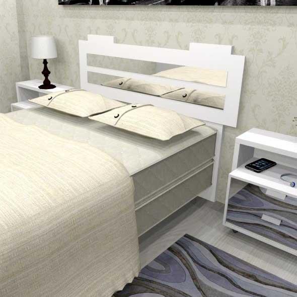 Painel para cabeceira de cama 010