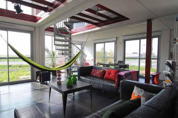 Rede para decorar a sala de estar 011