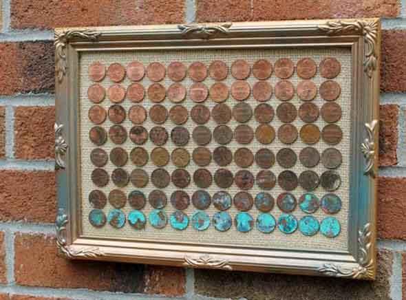 Reutilizar moedas na decoração 016