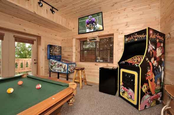 Sala de jogos em casa 005