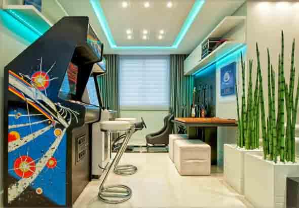 Sala de jogos em casa 011
