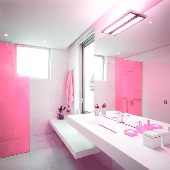 Banheiros coloridos 011