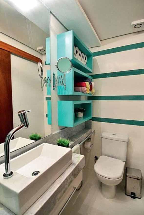 Banheiros coloridos 016