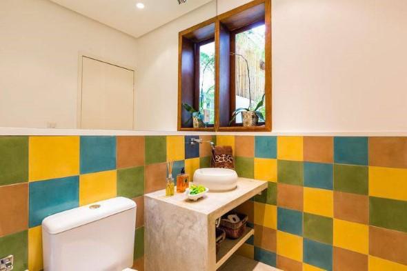 Banheiros coloridos 019