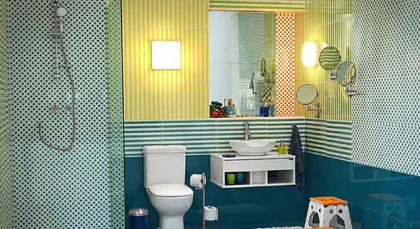Banheiros coloridos 020
