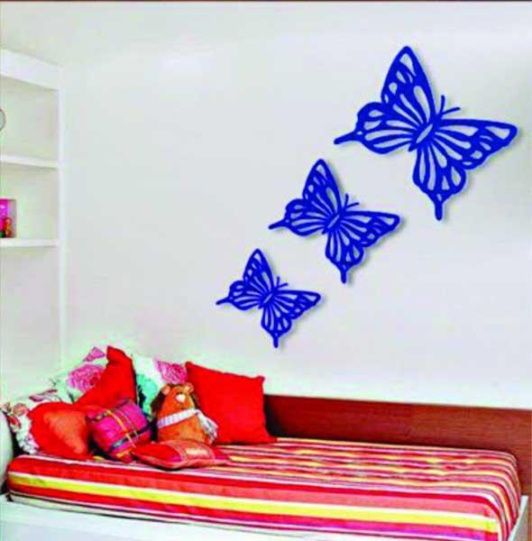 Decore sua casa com quadros vazados 020