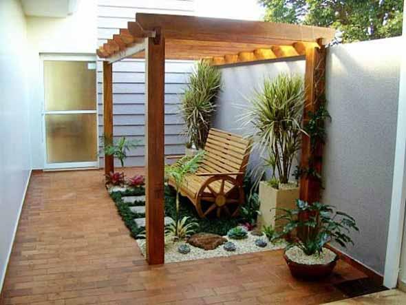 Pergolados no interior e exterior de casa 022