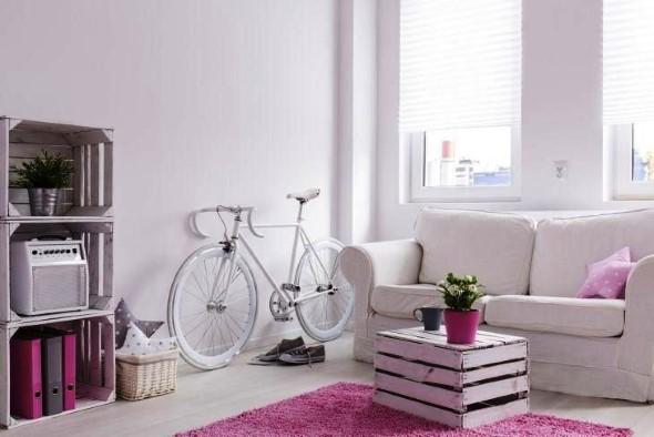 Sala de estar rústica 018