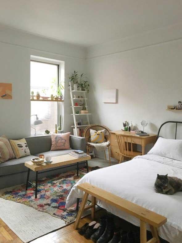 Tenha um sofá confortável em seu quarto 002