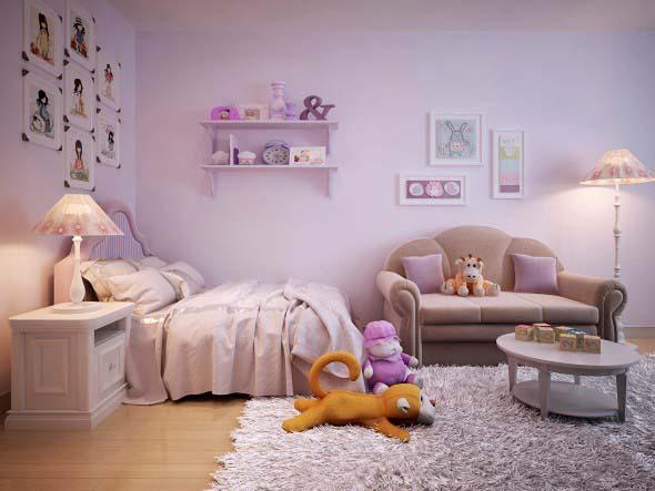 Tenha um sofá confortável em seu quarto 008