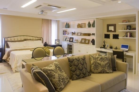 Tenha um sofá confortável em seu quarto 009
