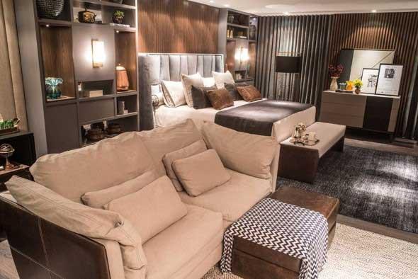 Tenha um sofá confortável em seu quarto 012