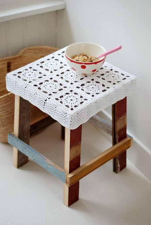 Usar crochê na decoração 001