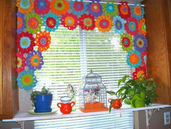 Usar crochê na decoração 005