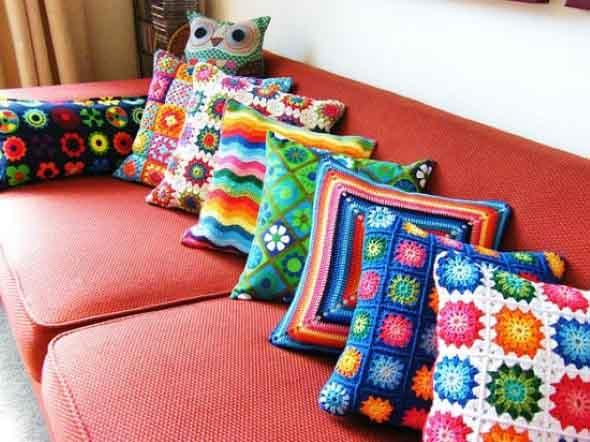 Usar crochê na decoração 006