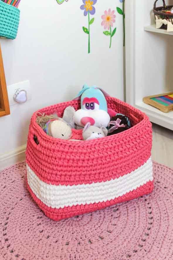Usar crochê na decoração 012
