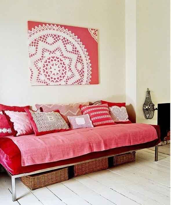 Usar crochê na decoração 015
