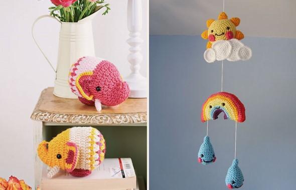 Usar crochê na decoração 017