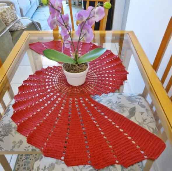 Usar crochê na decoração 018