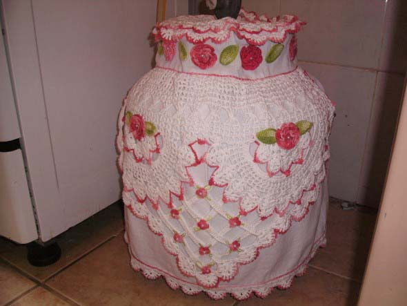 Usar crochê na decoração 022