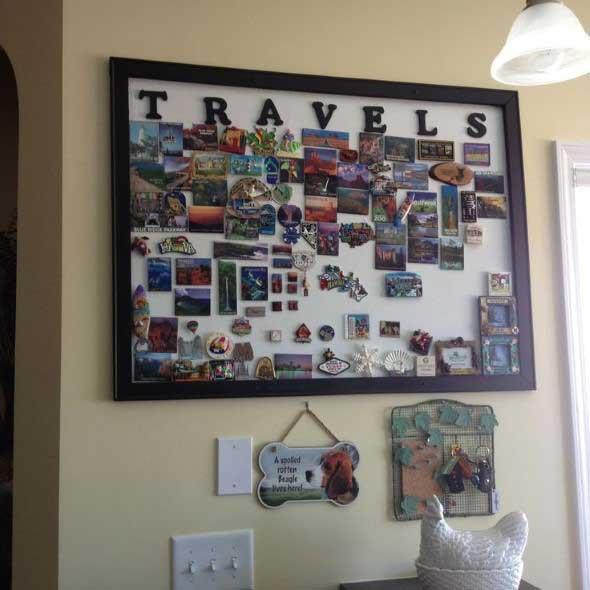 Ideias de decoração com o tema viagem 004