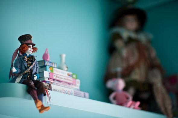Objetos em miniatura na decoração 017