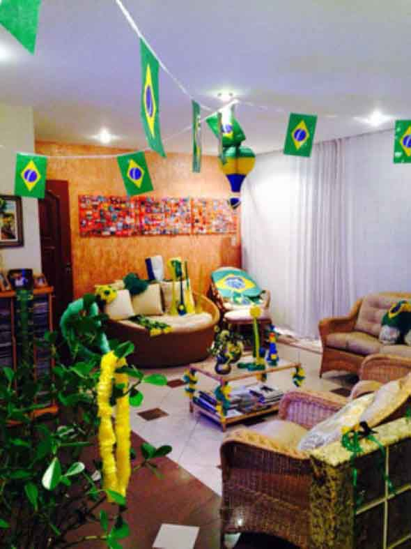 Casa decorada para Copa do Mundo 2018 005