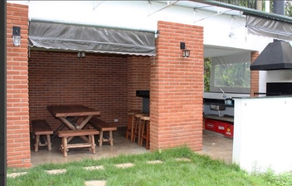 Casas modernas revestidas com tijolos 014