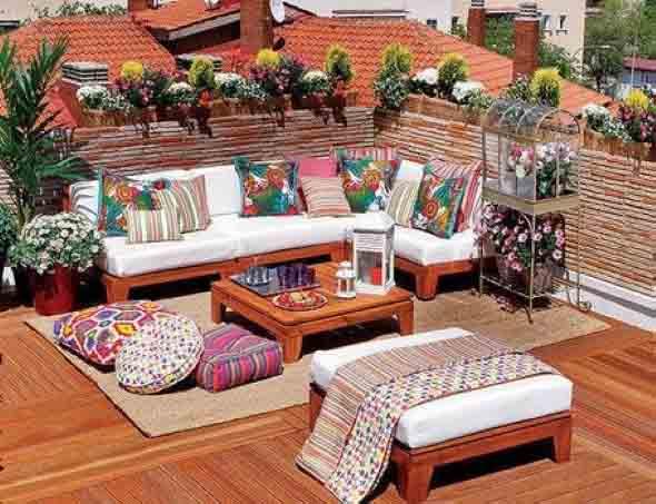 Ideias para deixar sua varanda relax 008