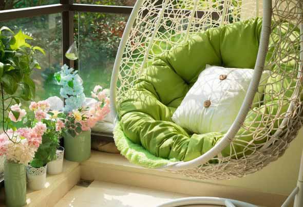 Ideias para deixar sua varanda relax 009