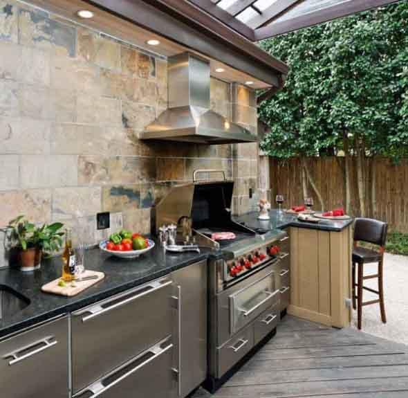 Cozinha externa 007