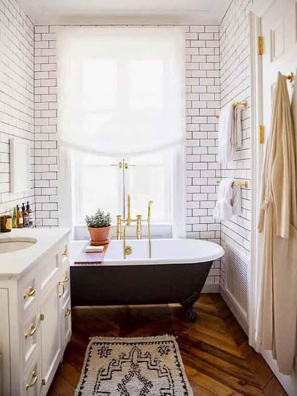Decoração com banheiras antigas 003