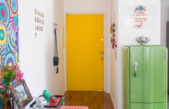 Decorar com portas coloridas 004