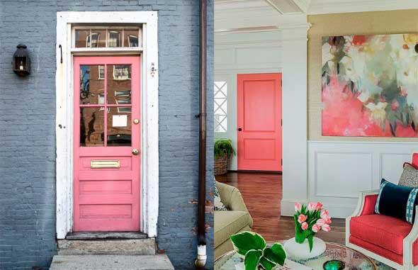Decorar com portas coloridas 007