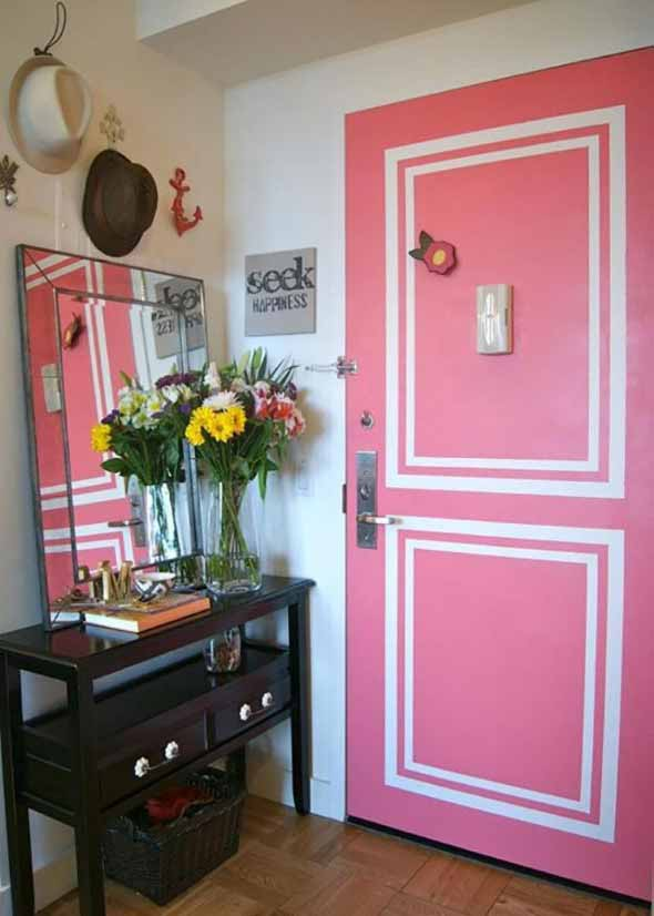 Decorar com portas coloridas 013