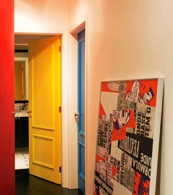 Decorar com portas coloridas 015