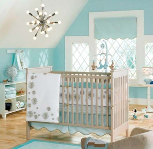 Decorar quarto de bebê em estilo praia 002