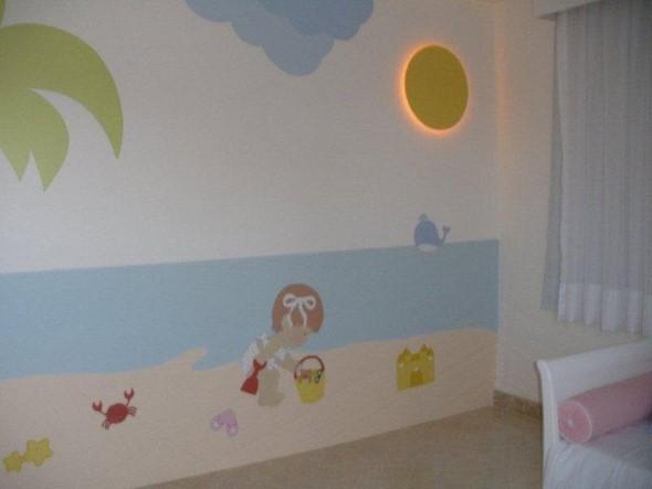 Decorar quarto de bebê em estilo praia 005