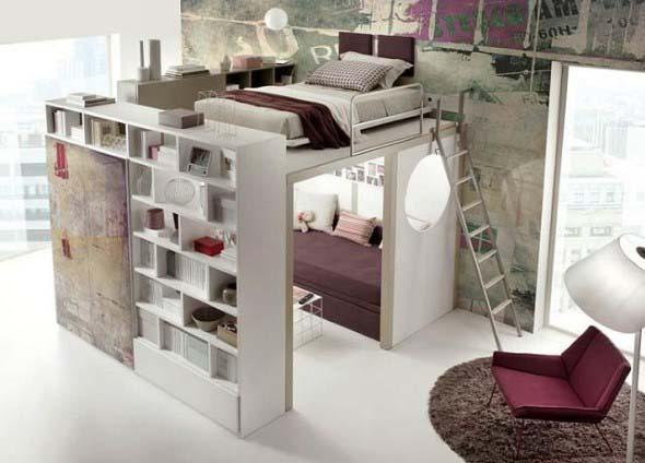 Pequenos espaços debaixo da cama 013