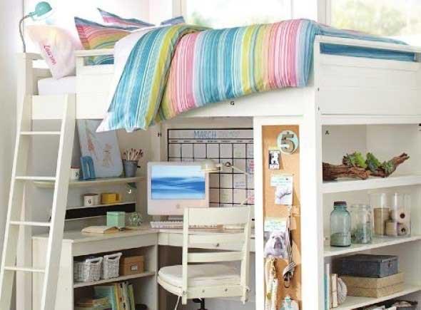 Pequenos espaços debaixo da cama 014