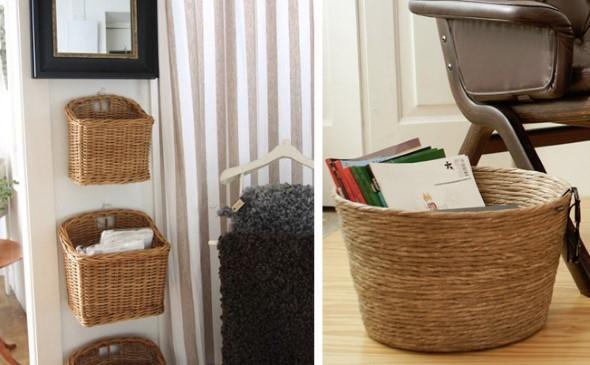 Decore sua casa com objetos de vime 002