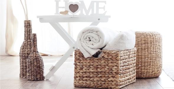 Decore sua casa com objetos de vime 008