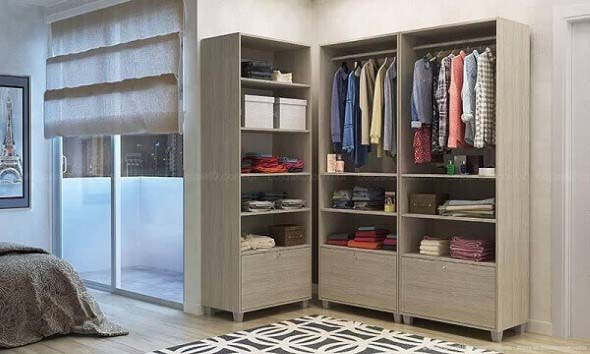 Guarda roupas sem portas 013