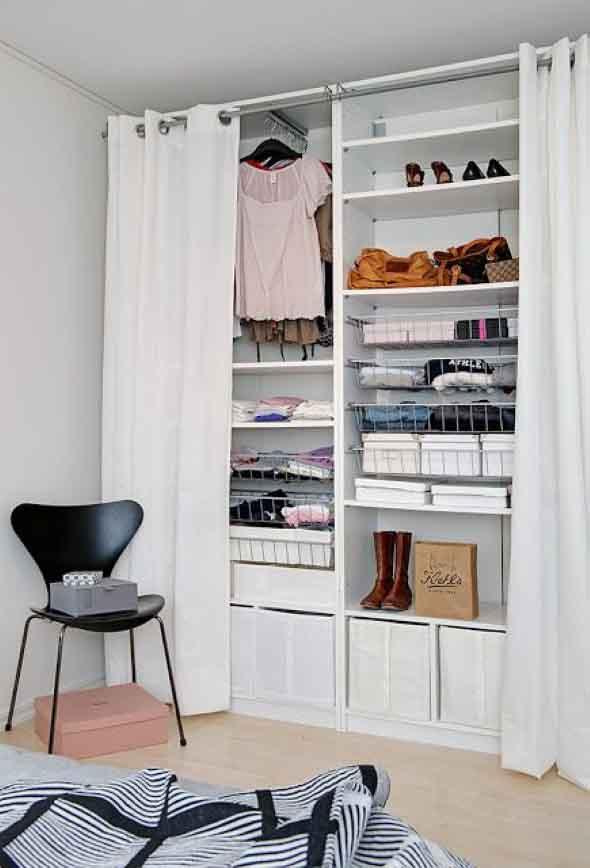 Guarda roupas sem portas 016