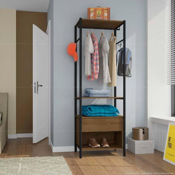Guarda roupas sem portas 018