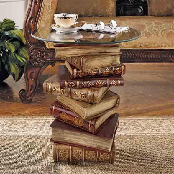 Ideias de decoração com livros velhos 002